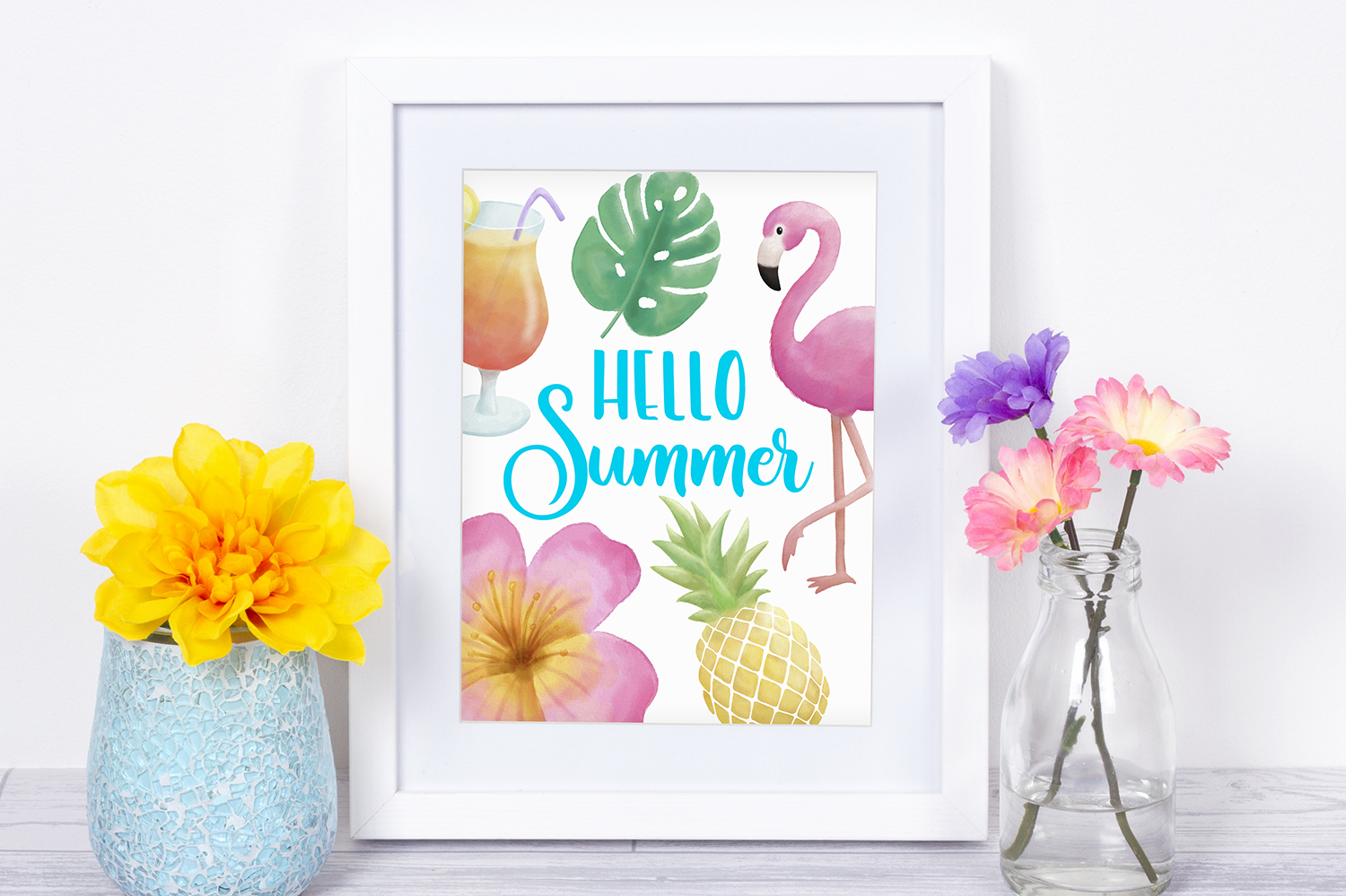 Tropical Watercolor Illustrations example image 4