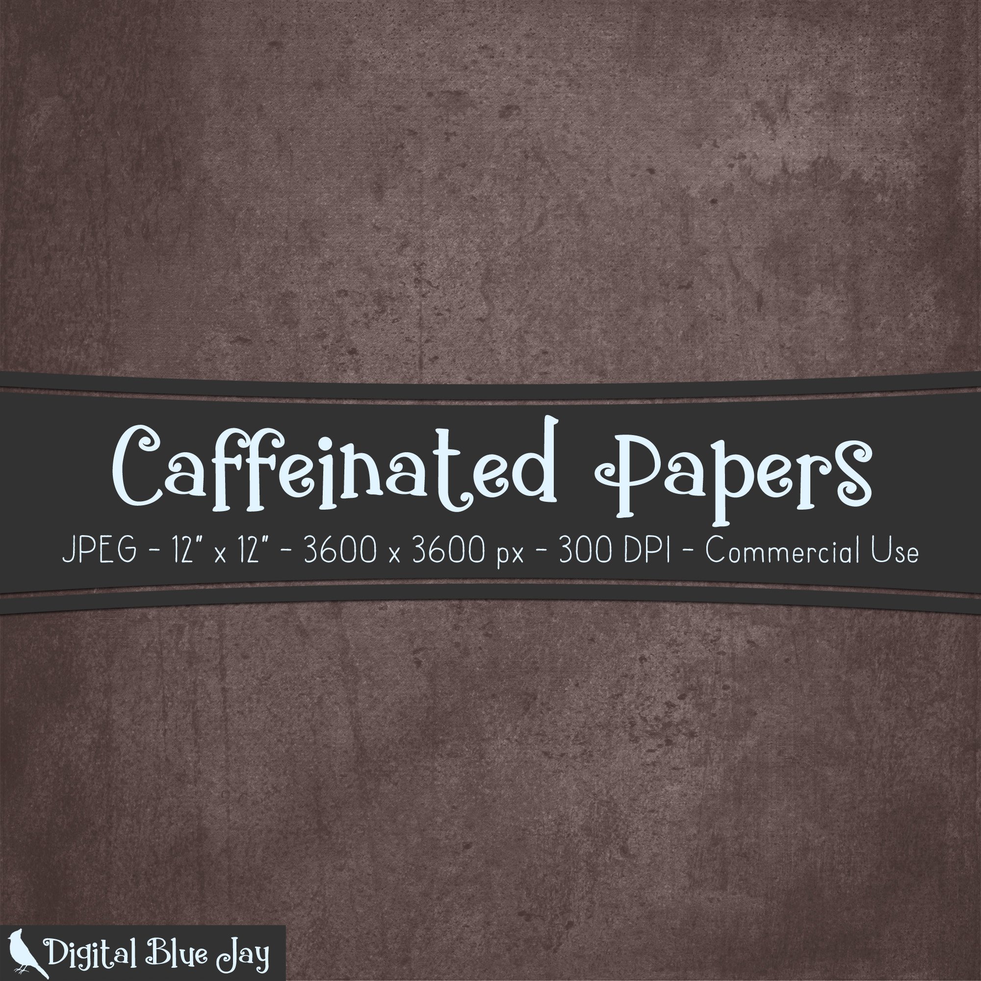 Digital Paper Textured Backgrounds - Caffeinated example image 2