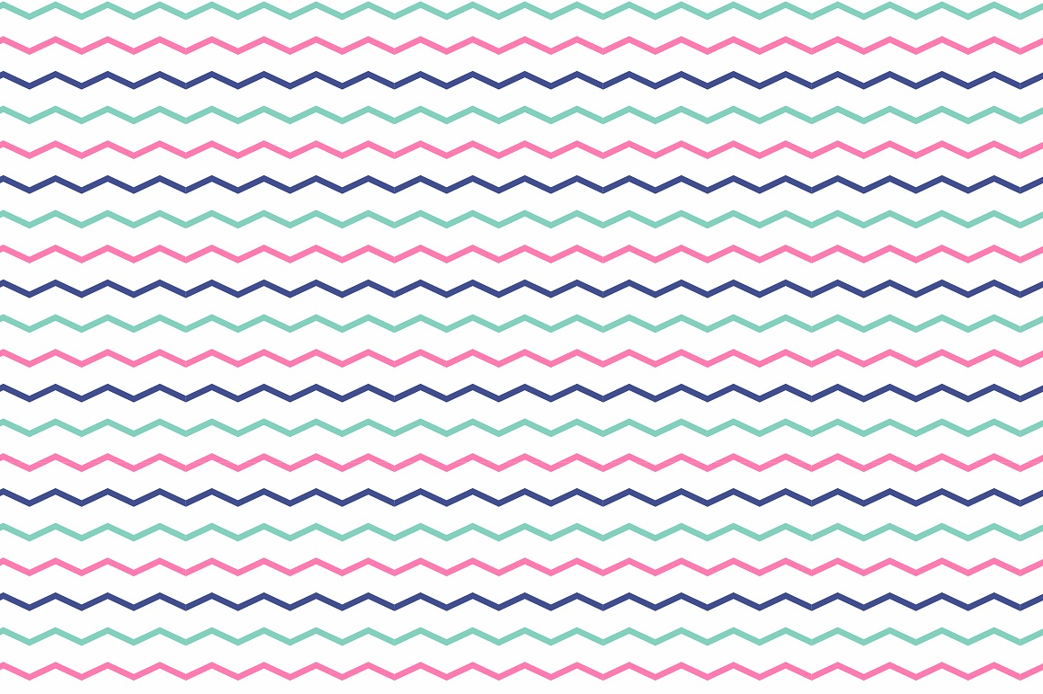 Color geometric patterns - seamless. example image 5