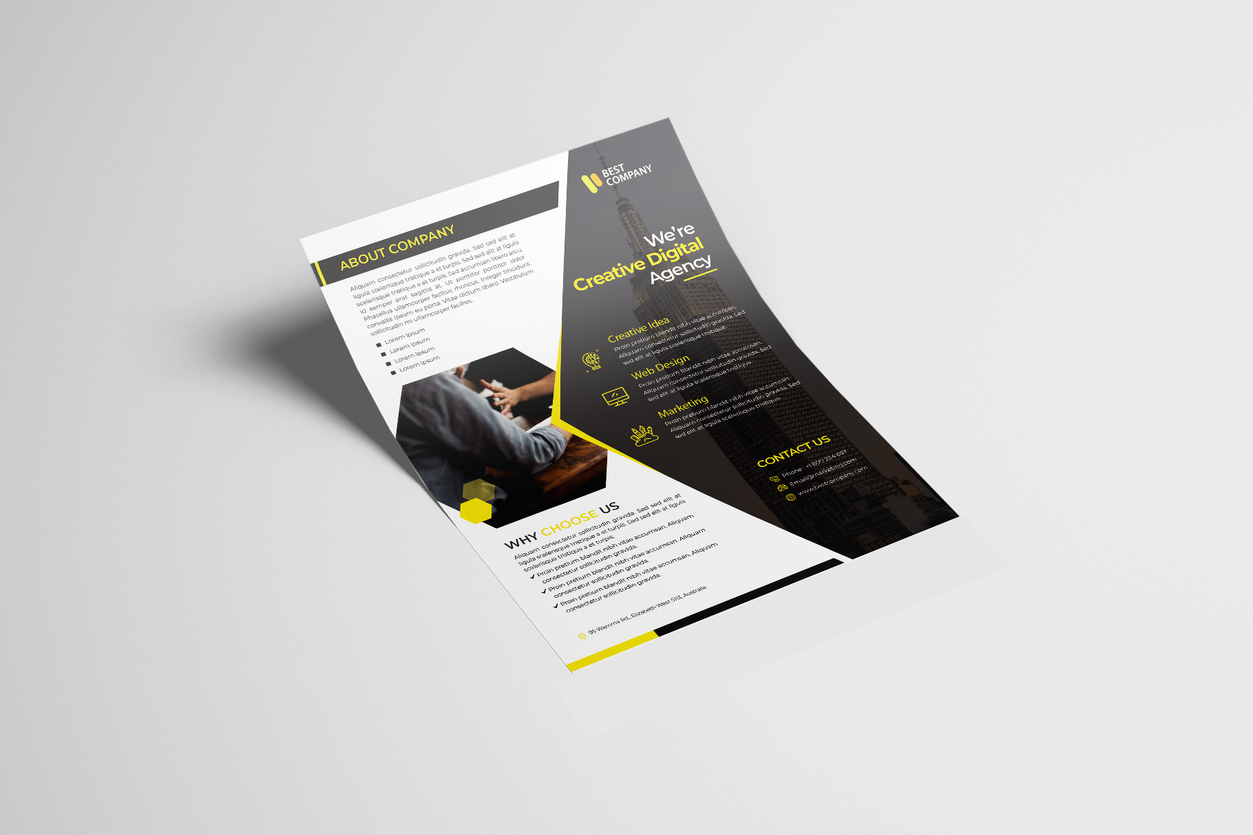 Creative Corporate Flyer Vol. 02 example image 4