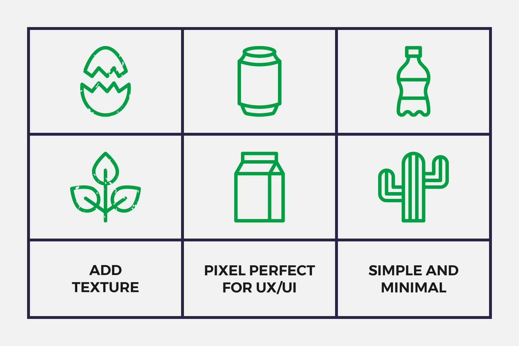 Waste Recycling Line Icons example image 3