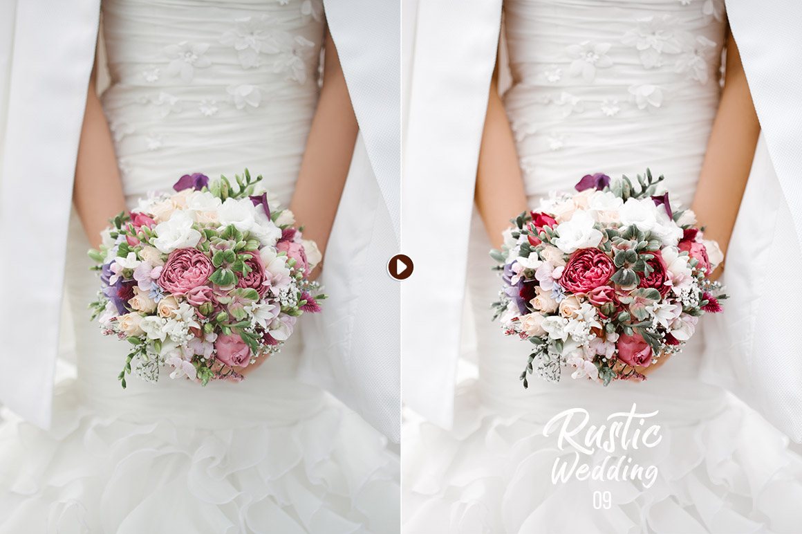 50 Rustic Wedding Presets for Lightroom & ACR example image 6