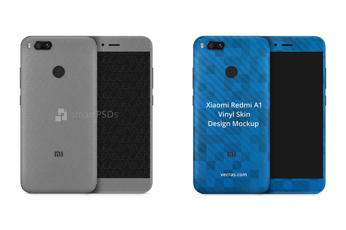 Xiaomi Redmi Mi-A1 Vinyl Skin Design Mockup 2017 example image 2