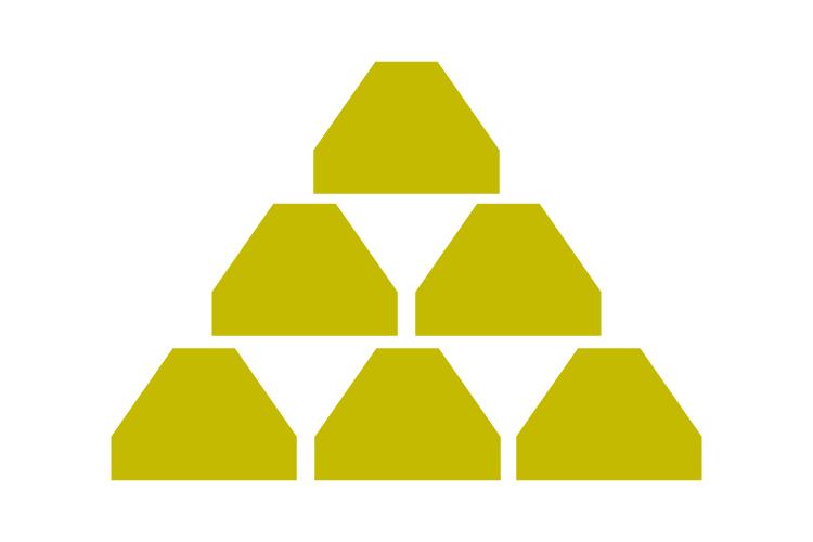 Gold bullion icon example image 1