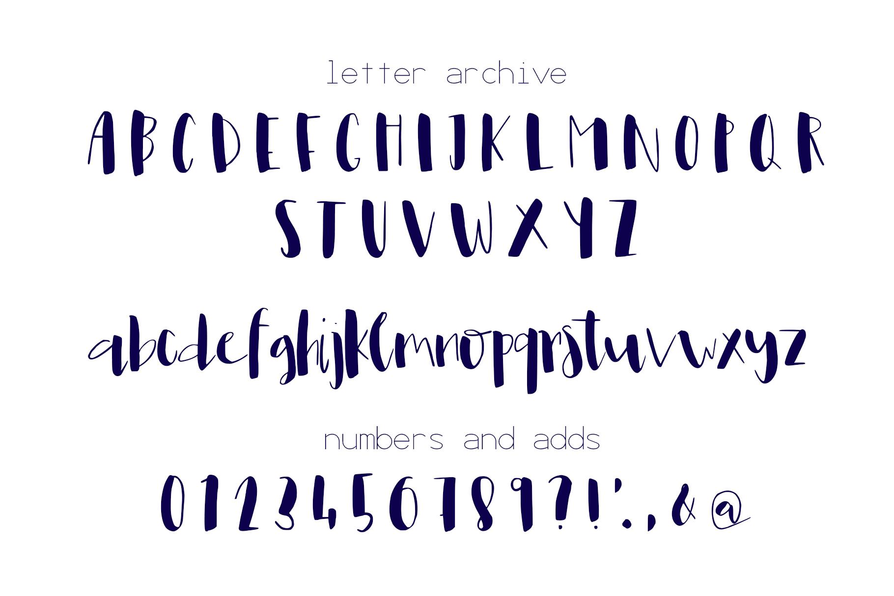 Leona Font example image 7