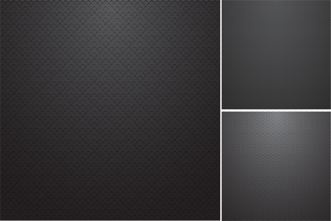 Collection of dark metal textures. example image 6