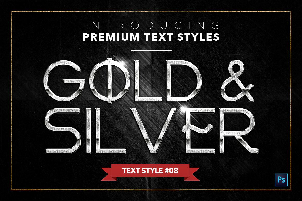 Gold & Silver #4 - 20 Text Styles example image 16