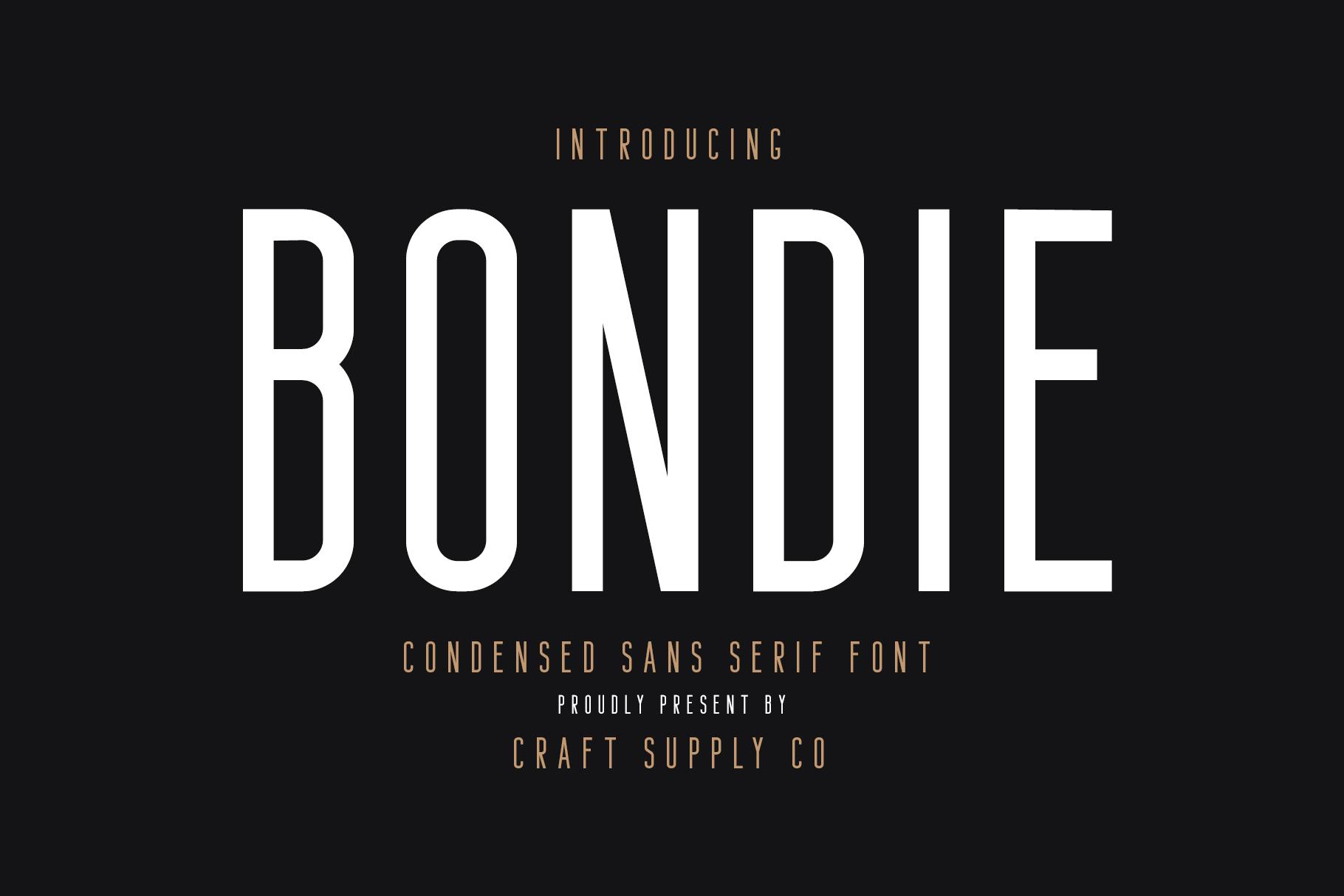 Bafora - SVG Font Bonus Bondie Font example image 15