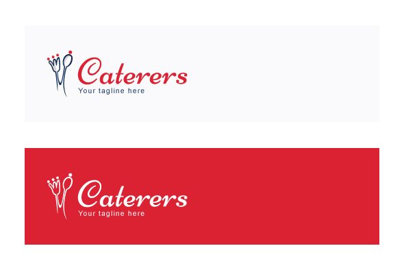 Caterers - Simple Iconic Stock Logo example image 2