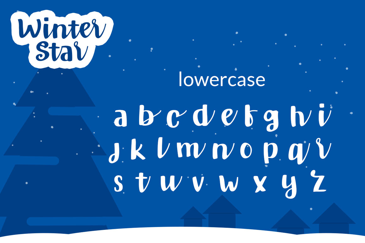 Winter Star - Playful Handwritten Font example image 5