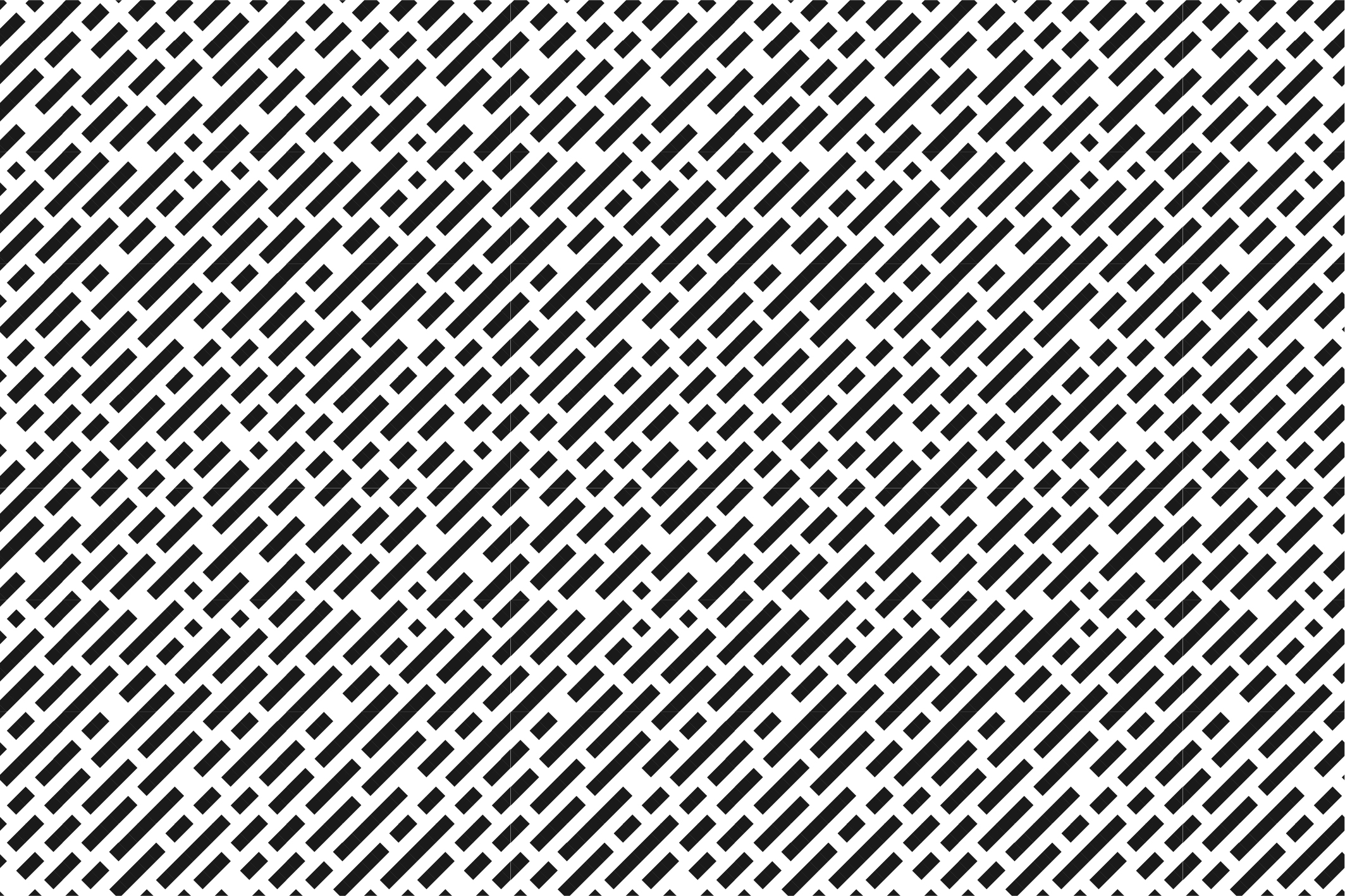 Geometric seamless patterns. B&W. example image 2