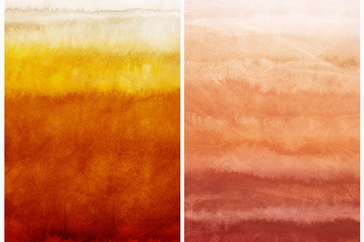 Autumn Watercolor Backgrounds example image 6