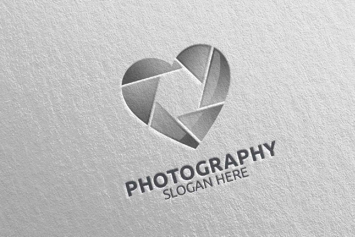 Abstract Camera Photography Logo 8 example image 4