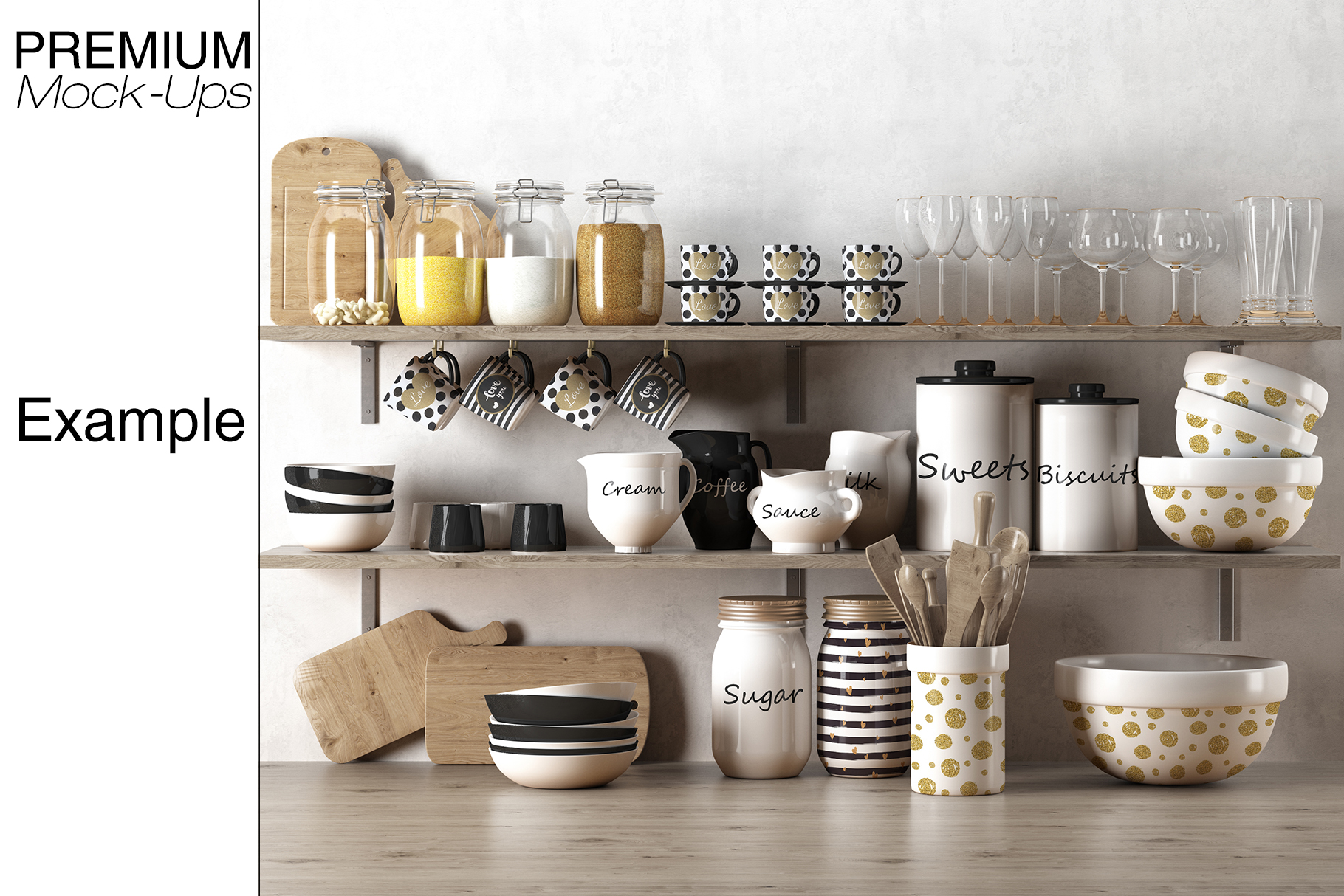 Kitchen Accessories Set example image 19