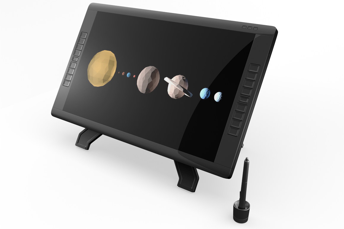 Wacom Graphic Screen Tablet Mockup example image 7