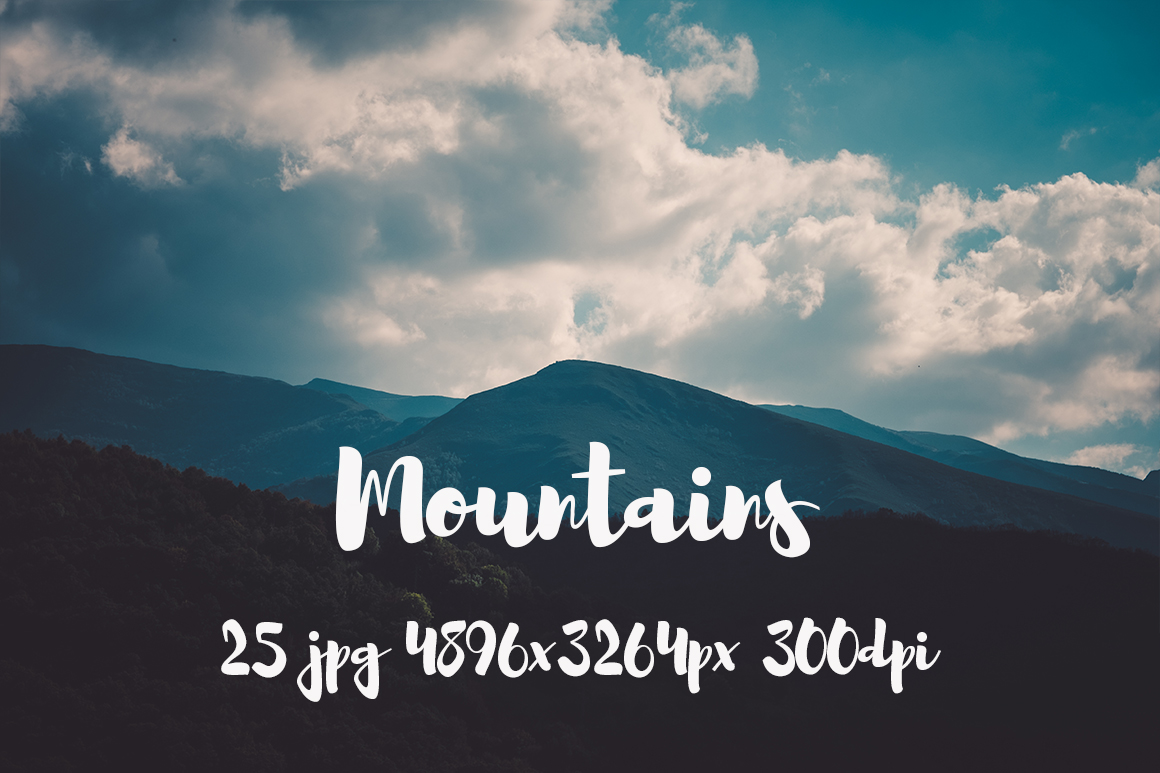Mountains Pack example image 10