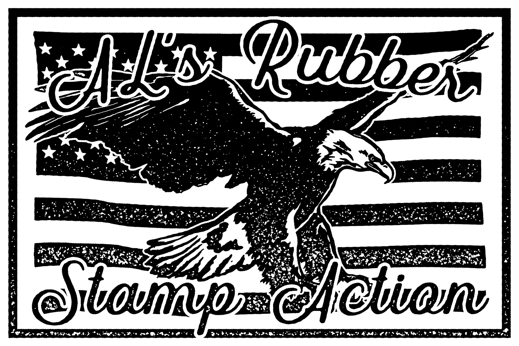 AL's Rubber Stamp Action Kit example image 4