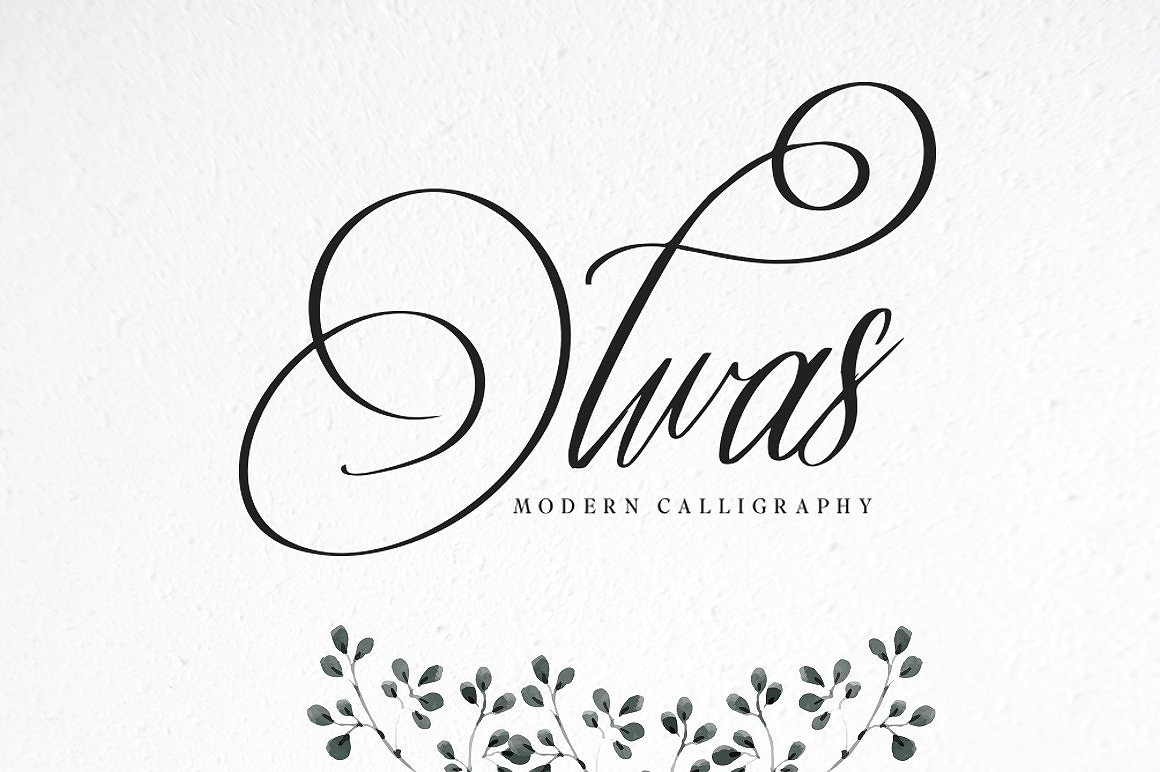 10 Font Script Collection + doodlee art example image 11