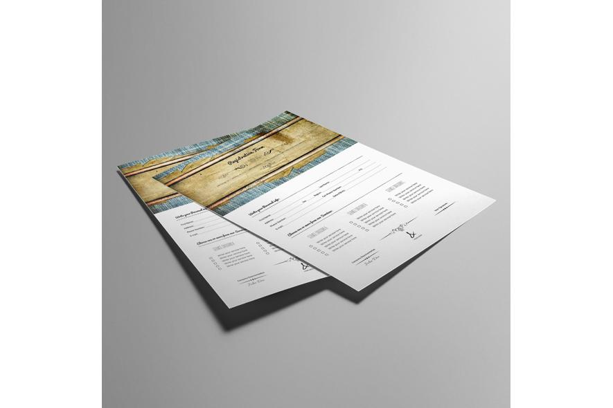Registration Form Template v11 example image 6