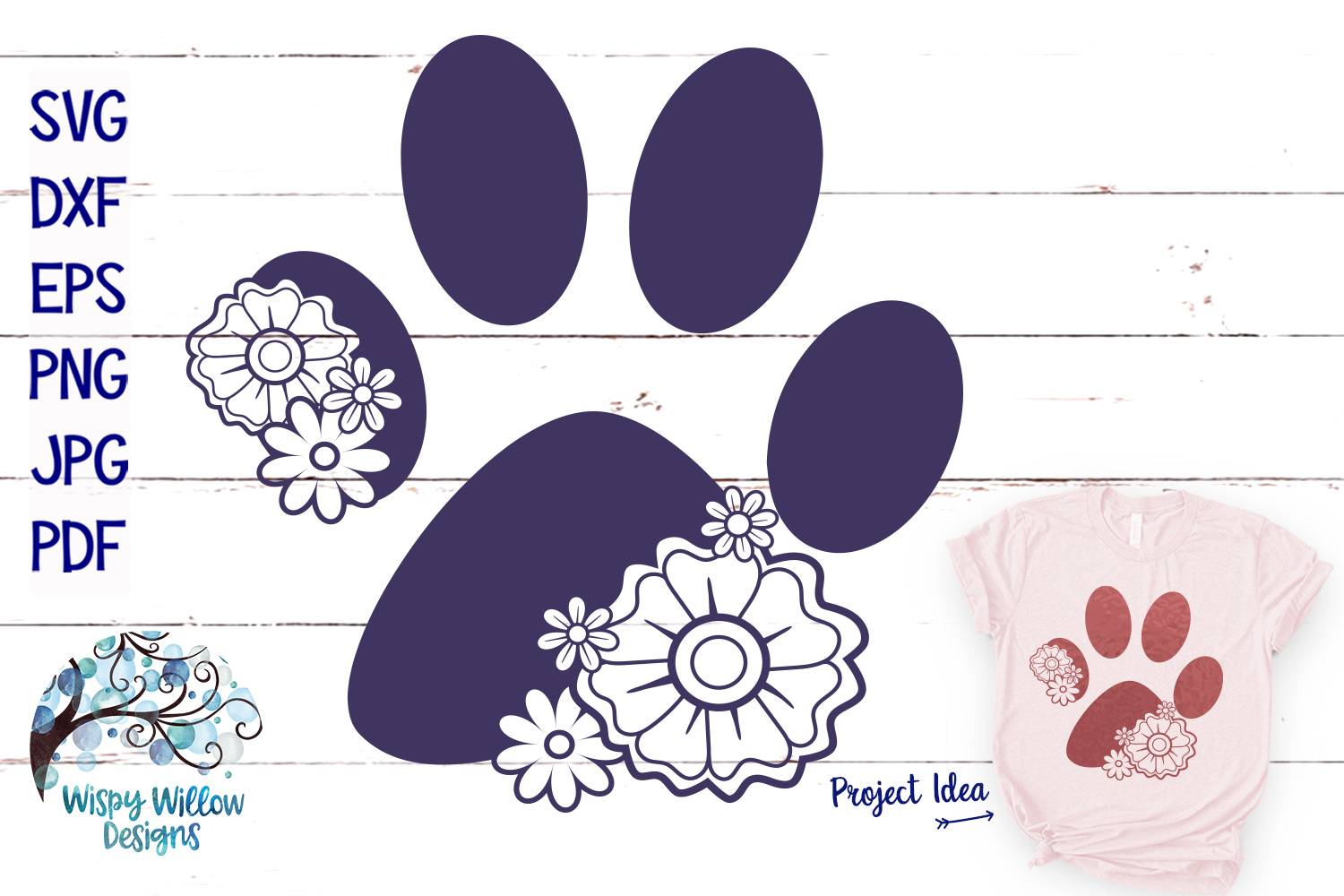 Floral Animal Bundle | Floral Animal SVG Cut Files example image 8
