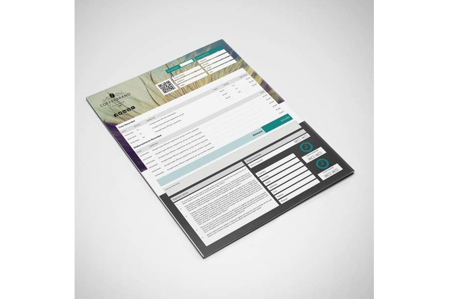 Invoice Template US Letter 4 Biz example image 6
