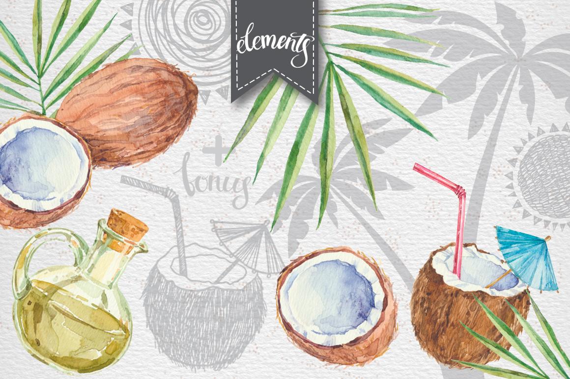Coconut set example image 2