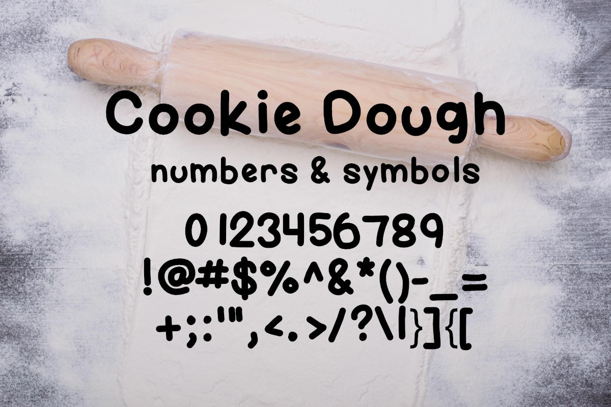 Cookie Dough Font example image 6