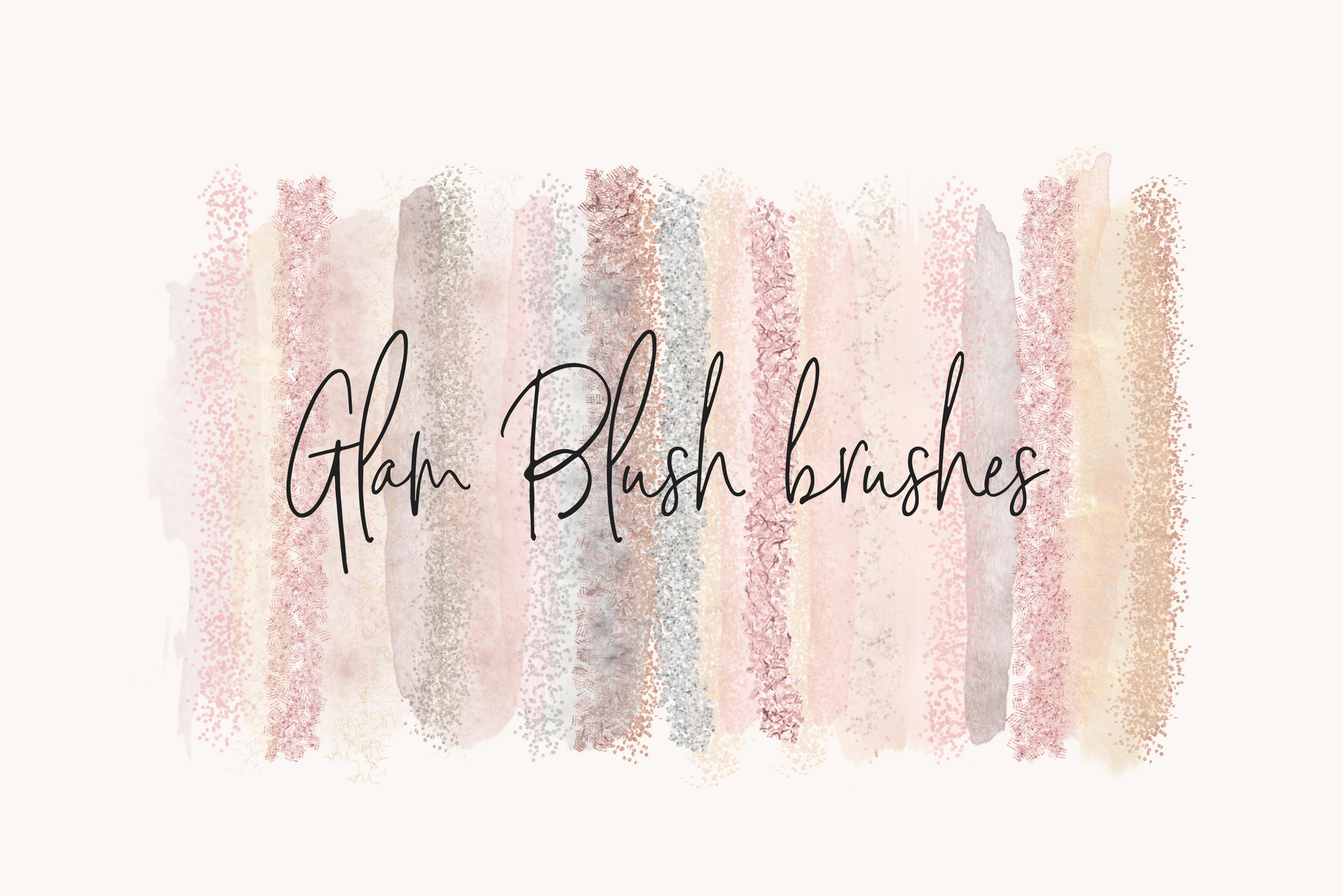 Glam Blush Brushes example image 1