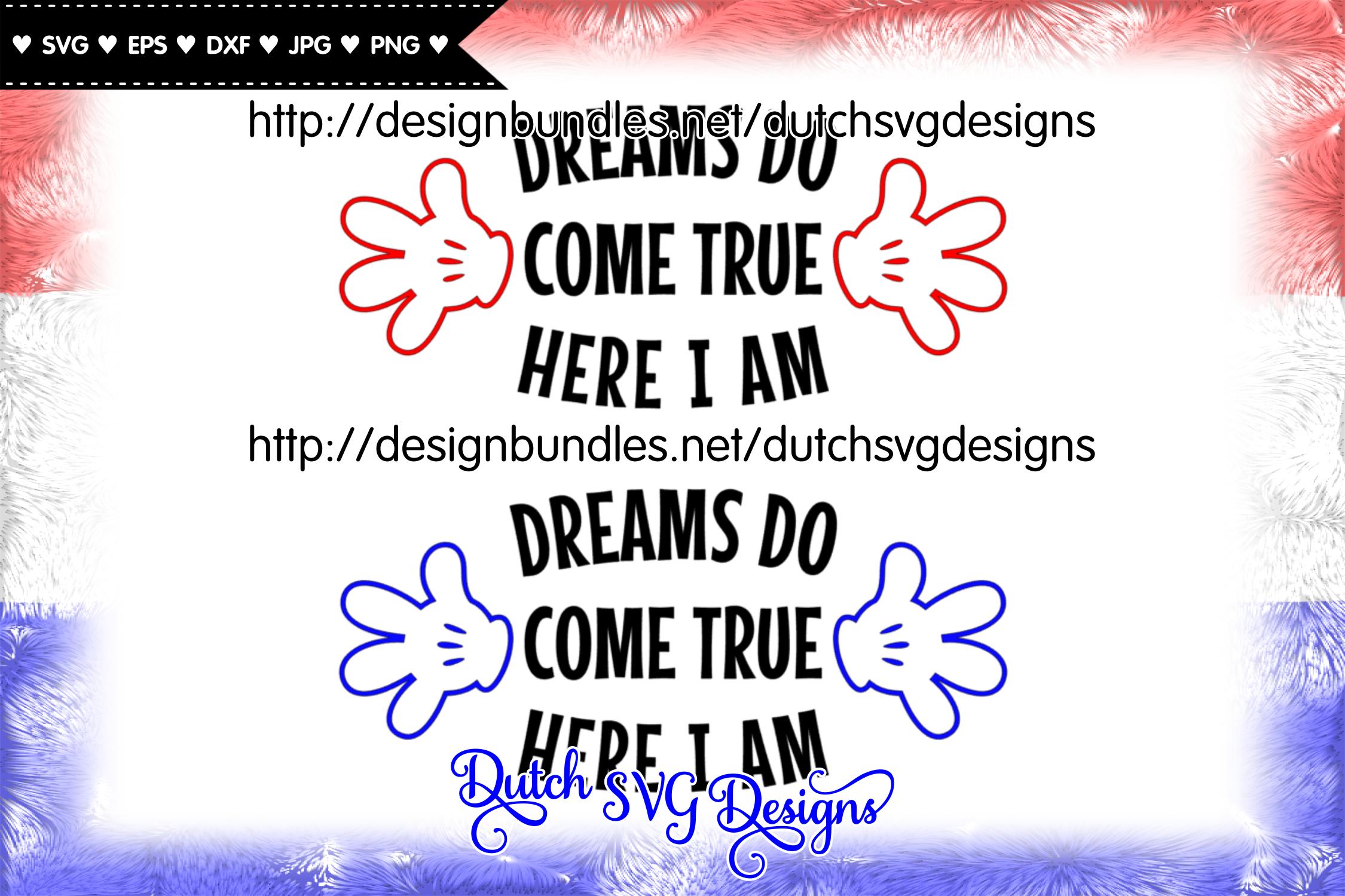 Cutting file Dreams, dreams svg, wish svg, baby svg example image 2