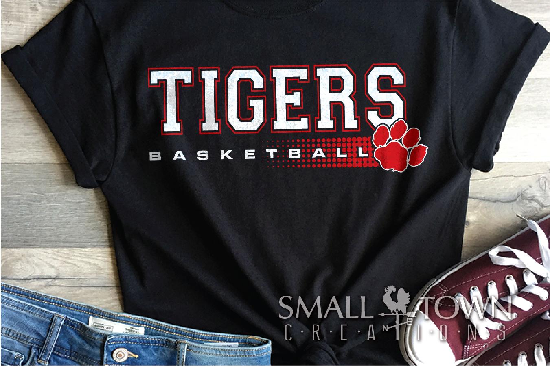 Tigers basketball, tiger mascot, team, PRINT, CUT, DESIGN example image 17