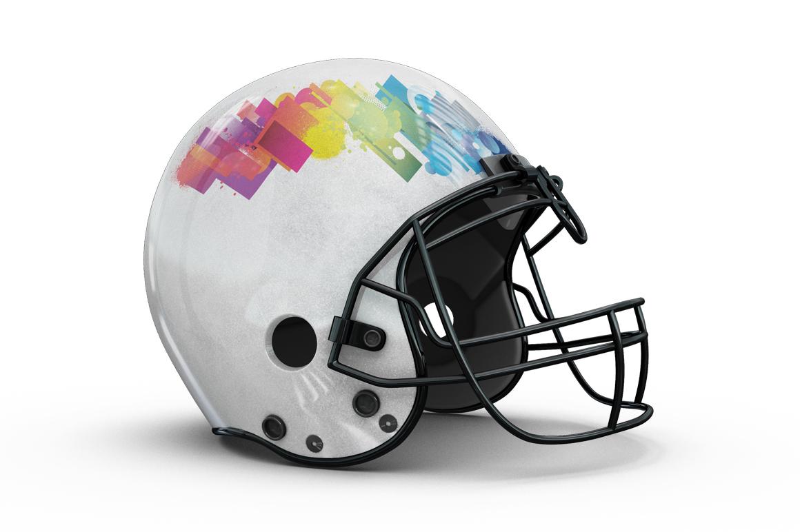 Football Helmet Mockup example image 8