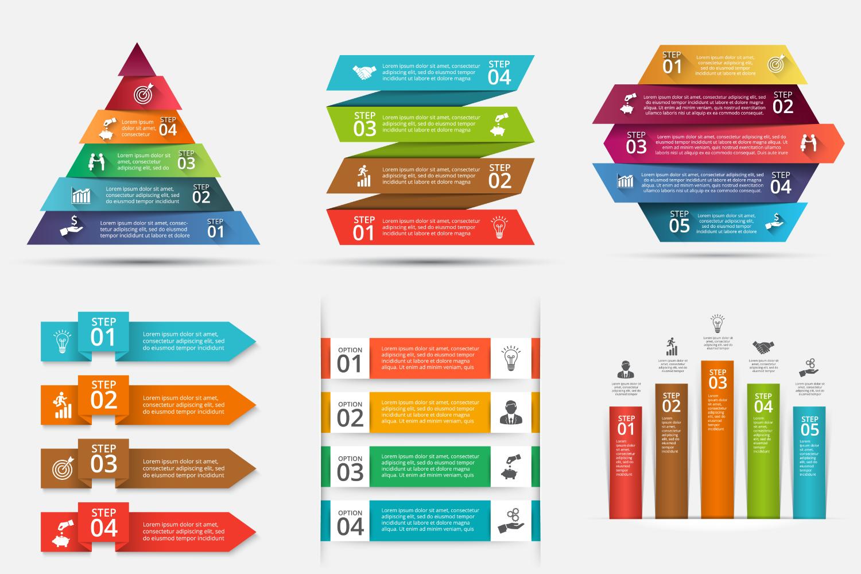 Infographic elements bundle v.01 example image 7