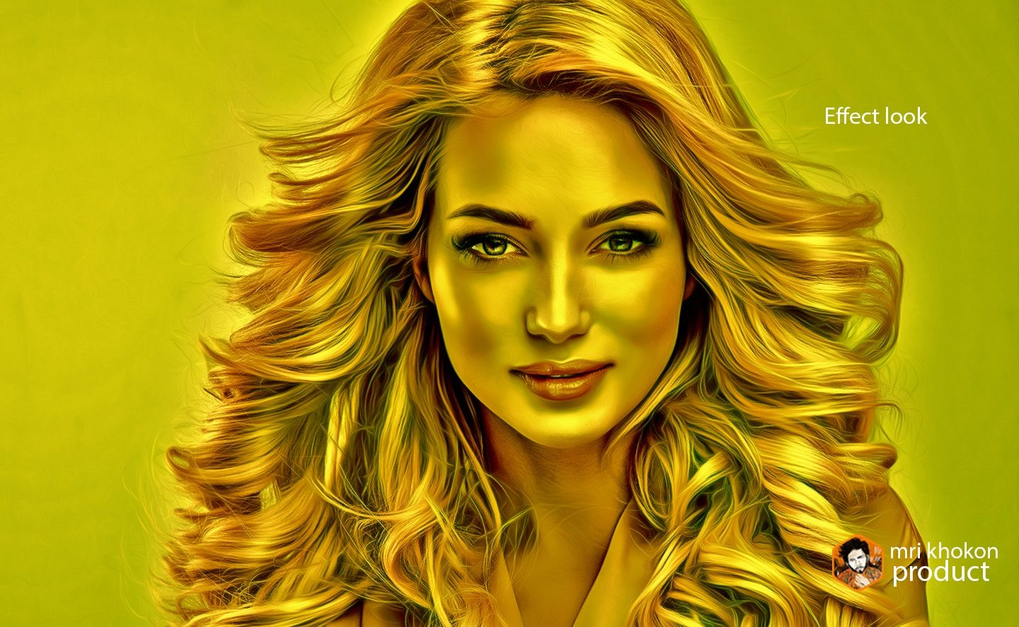 Gold Look Photoshop Effect example image 12