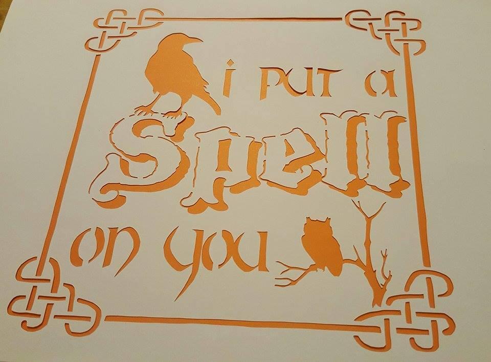 Halloween Papercutting Template Bundle example image 8