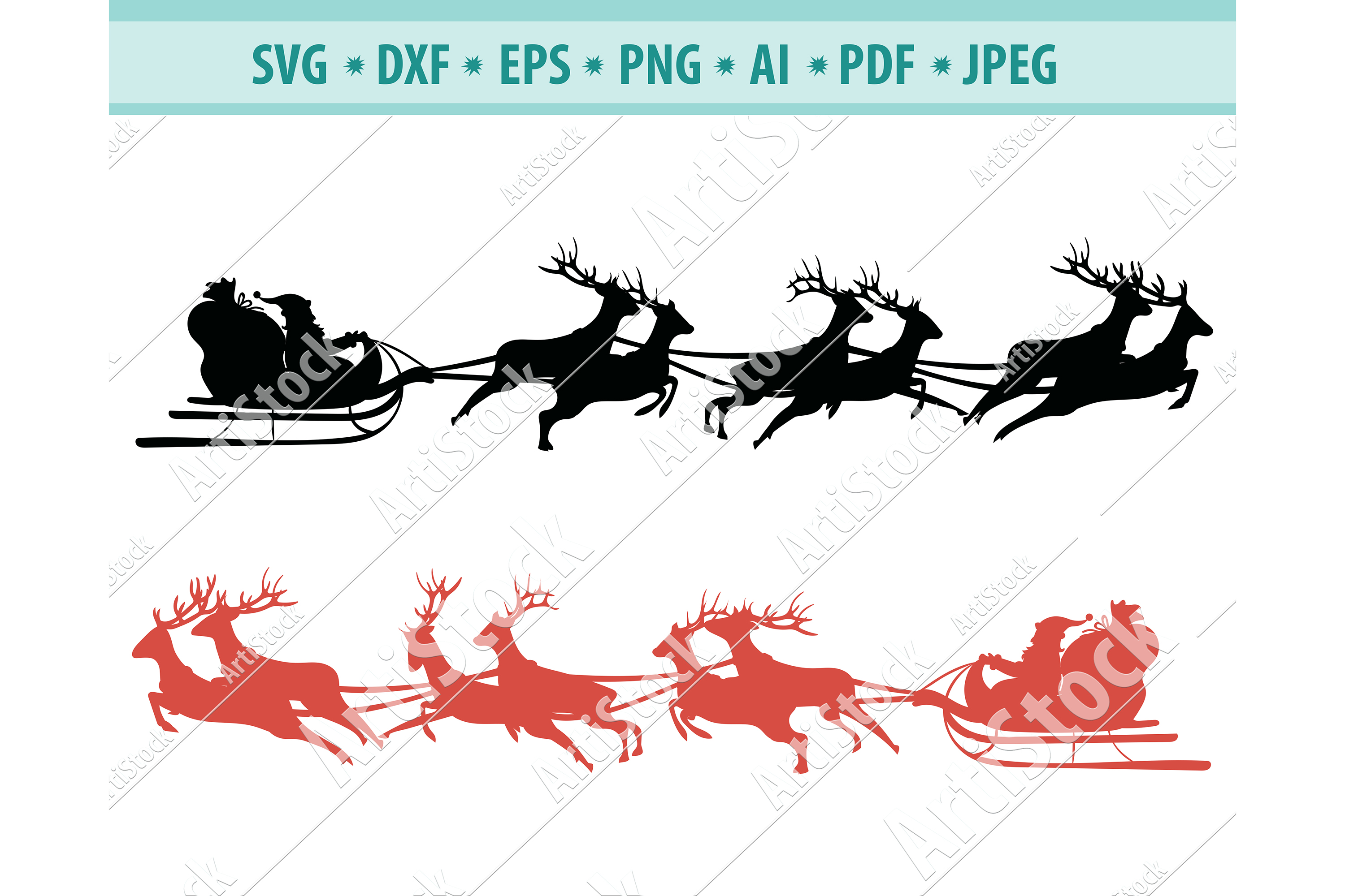 Get Reindeer Names Svg Dxf Pdf Eps Christmas Svg Design