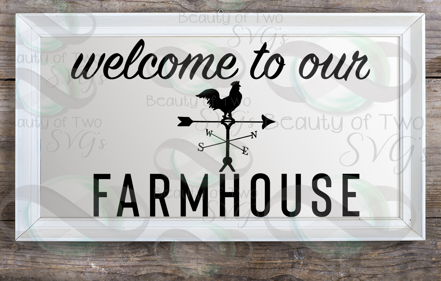 Farmhouse sign svg, Welcome to our Farmhouse svg and png example image 2