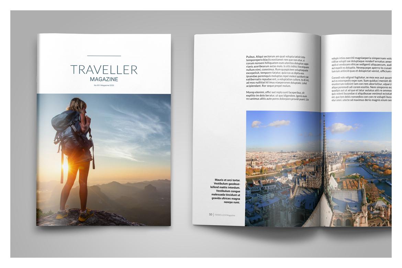 Multipurpose Magazine Template example image 8
