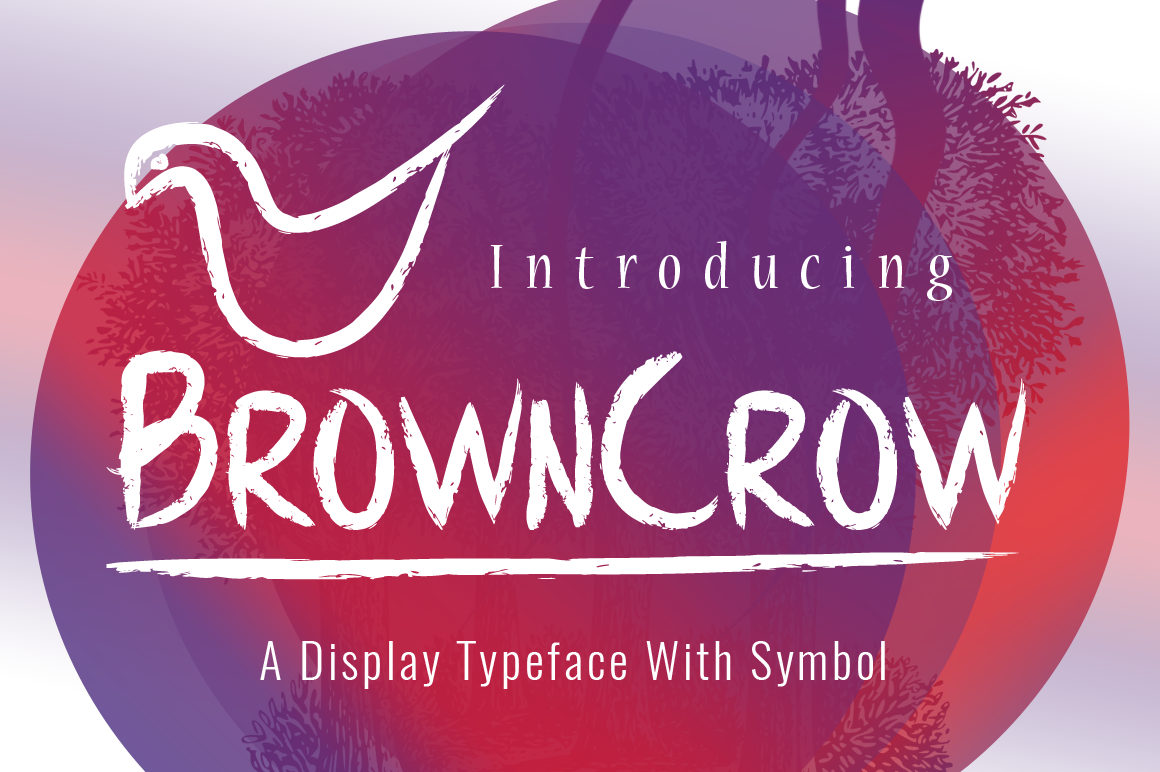 BrownCrow Typeface example image 1