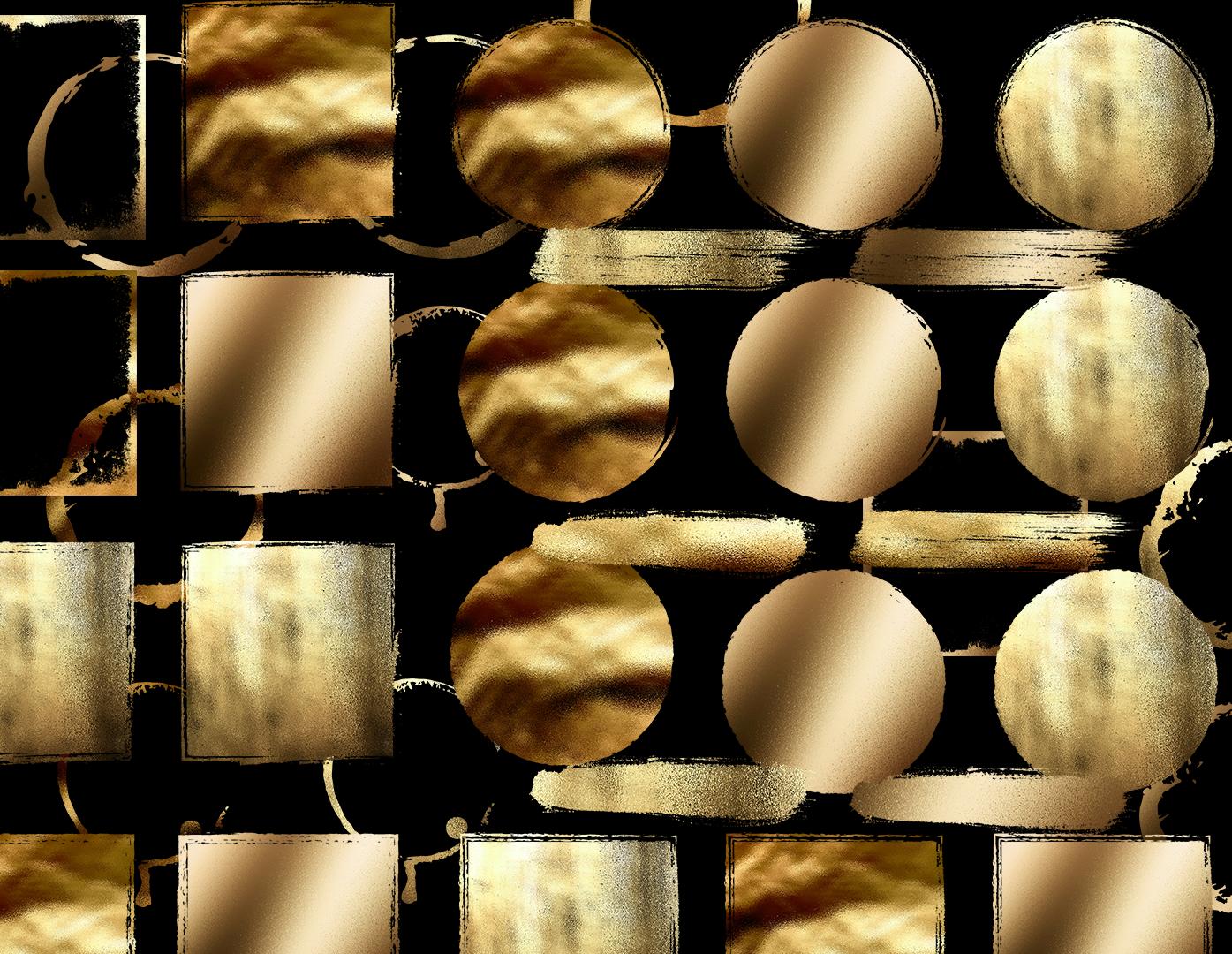 Gold Foil Design Elements example image 2