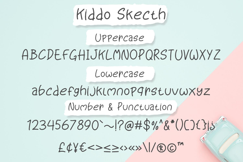 Kiddo Skecth example image 7