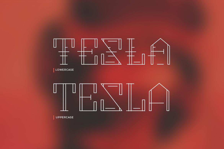 Metropolia - Futuristic font example image 9