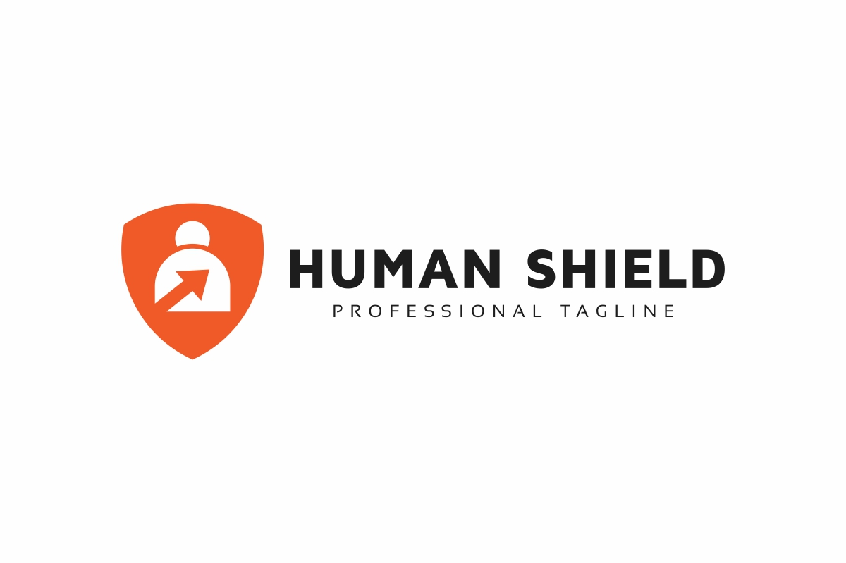 Human Shield Logo example image 3