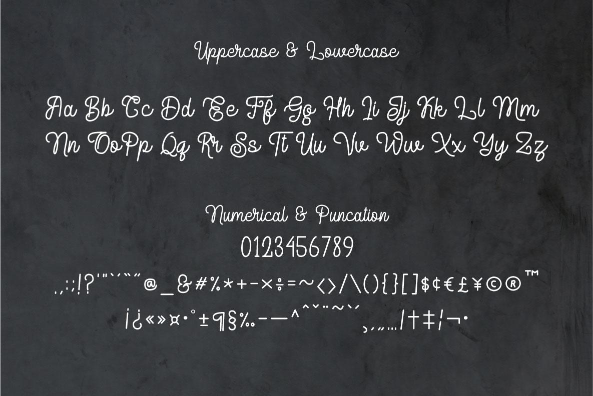 Delponta | Monoline Script example image 3