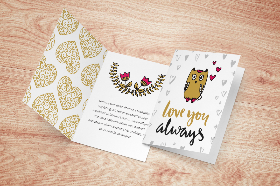 60 Valentine's Day Romantic Cards #4 example image 4