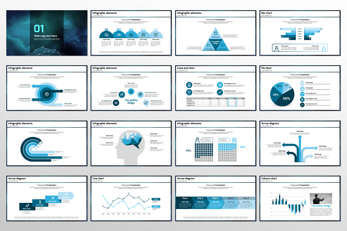 Space PowerPoint Template example image 3