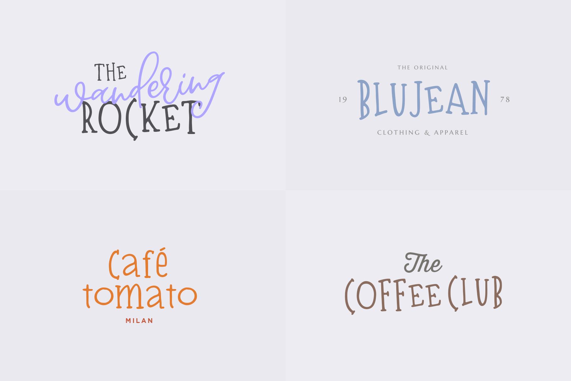 Bisquit   A Unique Serif example image 4