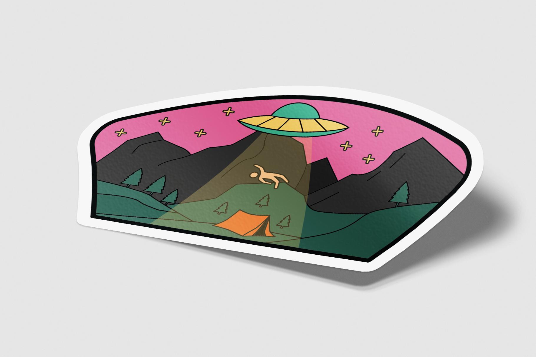 American Adventure Logo Kit / National Park Logos / Mountain example image 9