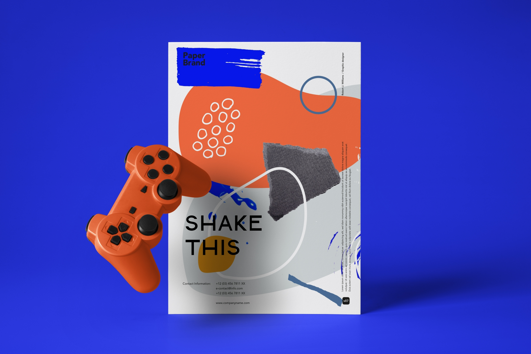 Shake this art! Collage pattern set. example image 7