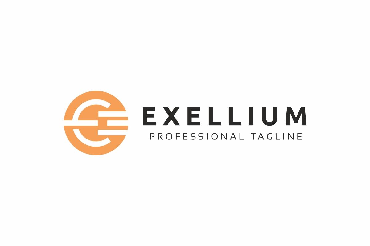 Exellium E Letter Logo example image 2