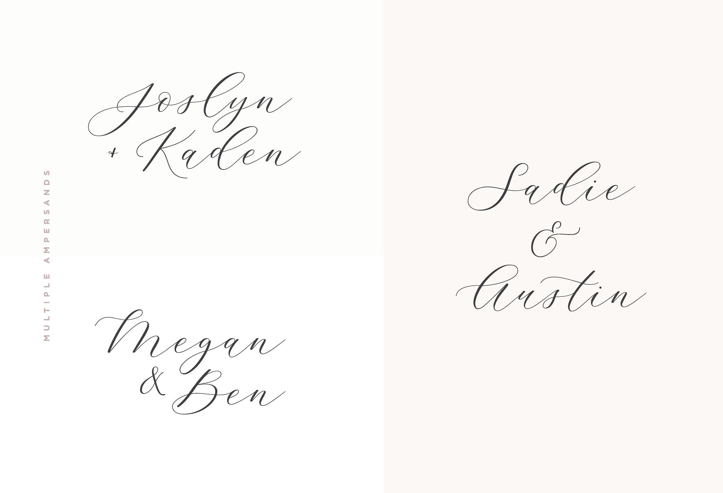 Adore Calligraphy Font example image 10